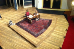 A famous rug we restored for a play in 2011.
