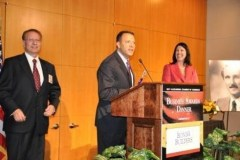 Winning Alexandria Business of the Year in 2011