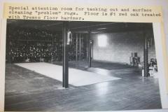 Mercer Rug Cleaning historic work space, Virginia
