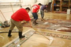 Rug Cleaners Hand Washing Process Richmond VA